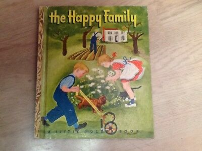 A Little Golden Book, The Happy Family, 1947, Mary Reed, Ph.D.