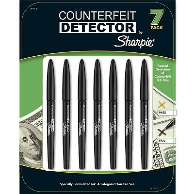 Sharpie Counterfeit Detector Markers 7-Pack