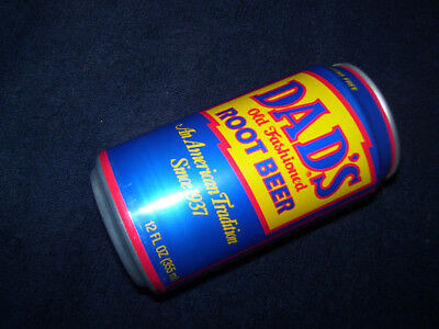 Dad's Root Beer Soda Can~Dad's Root Beer Chicago~All American Bottlers~Aluminum