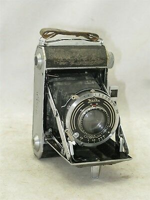 Welta Weltax Postwar Folding Camera FOR PARTS REPAIR OR DISPLAY