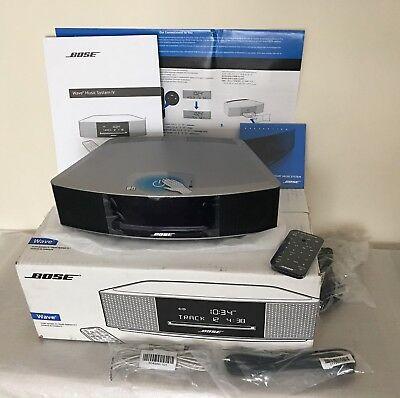 Bose Wave Music System IV with DAB/AM/FM Tuner & CD Player, NEW