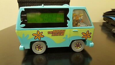 Scooby-Doo The Mystery Machine Alarm Clock. 1999 Hanna-Barbera.