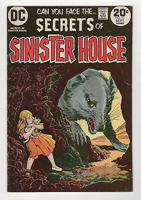 DC Comics Secrets of Sinister House Vol. 3 #13 Bronze Age