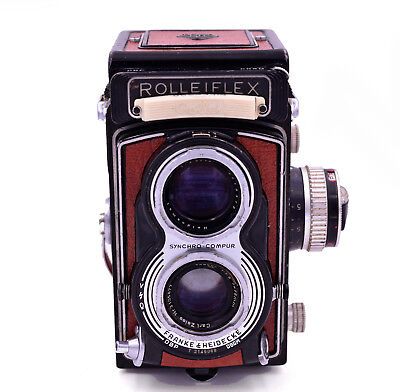 "Rolleiflex Model ""T"" - Replacement Cover - Laser Cut - Angus RecycledLeather"