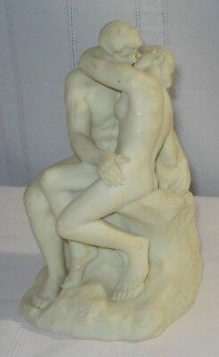 The Kiss By A. Rodin (Alabaster Sculpture)