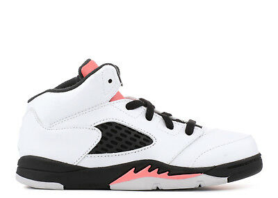 Nike Jordan 5 Retro GT Shoes NEW AUTHENTIC White/Sunblush/Black 725172-115