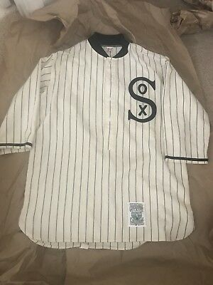 1919 Chicago White Sox jersey Mitchell   Ness Home Wool black sox Vintage 5a6bc2ac4