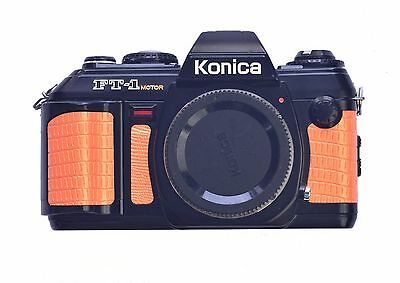Konica FT-1 Motor Replacement Cover - Laser Cut PU Leather - Lizard