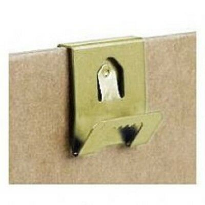 3 Pack Brass Clip Over Hangers  **Free P&P**