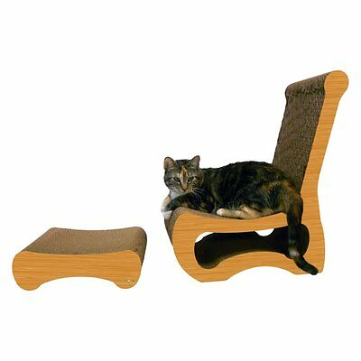 Imperial Cat Shape Scratch n Shapes - Easy Chair