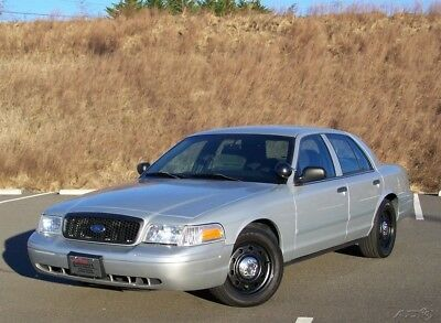 Ford Crown Victoria 1-OWNER P71 POLICE INTERCEPTOR CRUISER UNDERCOVER