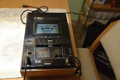 Elac CD 500 High Fidelity Tape-Deck Rarität TOP