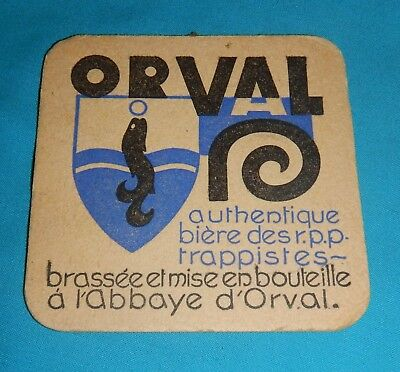 sous bocks orval double face chimay