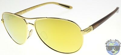 Oakley Feedback Women's Sunglasses OO4079-28 Polished Gold | 24K Iridium Lens