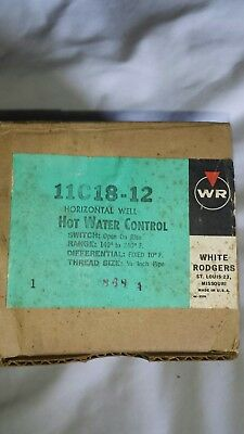 White Rogers Hot Water Control 11C18-12 New NOS FREE S&H