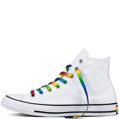 a74b6f97dff2 New Unisex Converse Chuck Taylor All Star Pride LGBT White Sz 10.5 Men s