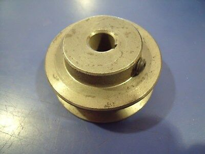 "2-1/2""OD Cast Iron Pulley, 1/2"" ID Bore, A/B groove, 1/8"" Keyway, Rotary 5968"