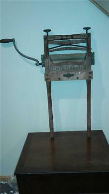 Antique Excelsior Brand Clothes Washing American Wringer Co Patent date 1888
