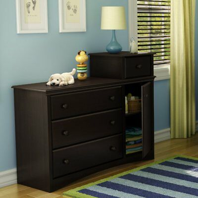 South Shore Angel Combo Dresser - Espresso