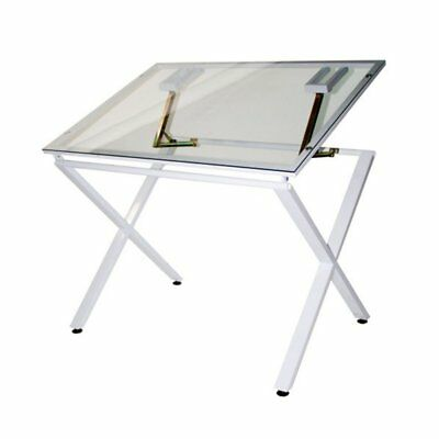 Martin Universal X-Factor Drawing/Drafting Table with Glass Top