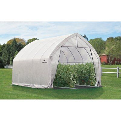 GrowIt High Arch Greenhouse, White, 20