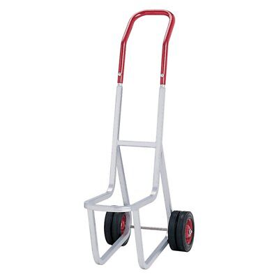 Raymond Products Stacked Chair Dolly for Narrow Chairs, Gray/Red, 33.5L x 14.5W
