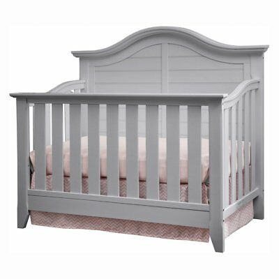 Thomasville Kids Southern Dunes Lifestyle 4-in-1 Convertible Crib, Pebble Gray