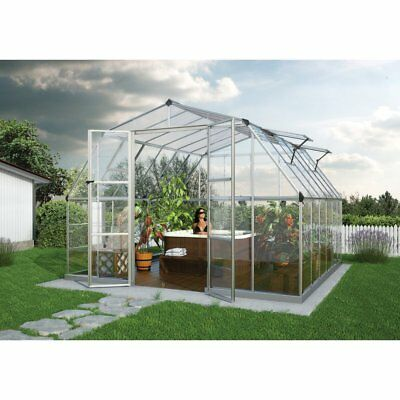 Palram Americana Hobby Greenhouse - 12 x 12 ft.