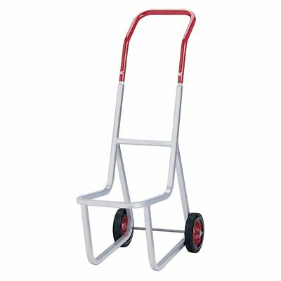 Raymond Products Stacked Chair Dolly, Gray/Red, 33.5L x 14.2W x 48H in.