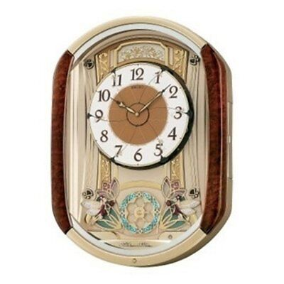 Seiko Dancing Fairies Melodies in Motion Wall Clock - 15.25-in. Wide, Blue