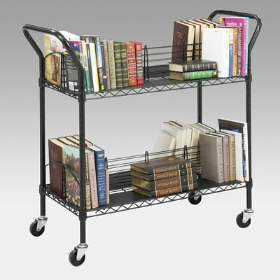 Mobile Wire Book Cart