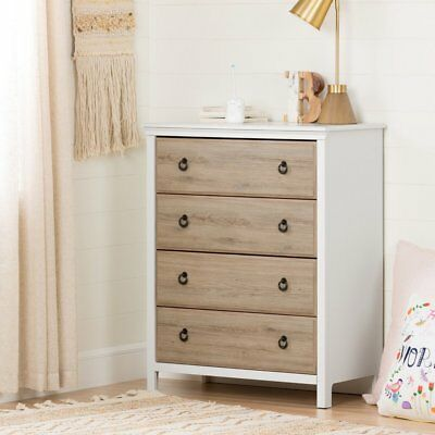 Catimini 4 Drawer Chest by South Shore, Pure White