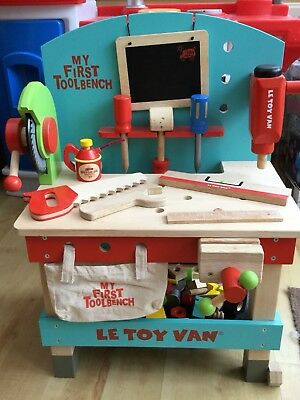 Swell Le Toy Van My First Tool Bench Wooden Tool Bench Tools Gamerscity Chair Design For Home Gamerscityorg