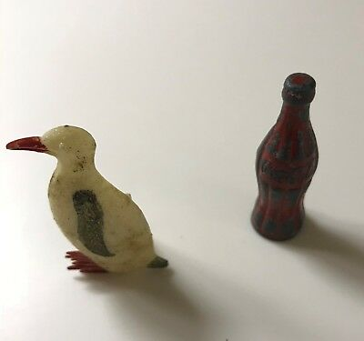 Vintage Coca-Cola and Penguin Pencil Sharpeners