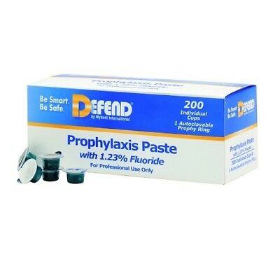 Mydent PP-1000-3 Prophy Paste Coarse Asst 200/Box, 3 Boxes