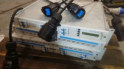 "Light processor paradigm dimmer pack rack mount 19"" lighting dim 63 amp DMX"