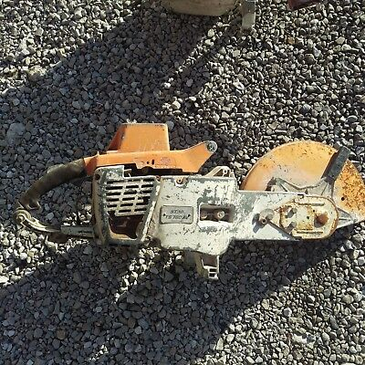 "Stihl TS760AV Concrete Cut Off Saw 14"" For Parts Not Working Lot 1"