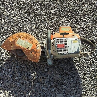 Stihl TS760AV Concrete Cut Off Saw For Parts Not Working Lot 2