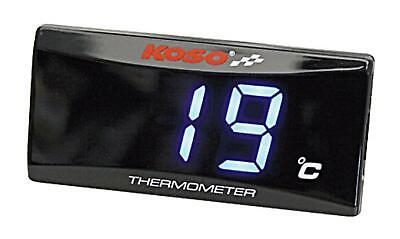 KOSO thermometer oil or water temperature, 0-120° C, warning function