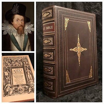 1611 FIRST ED Authorized KING JAMES BIBLE Ornate Binding COMPLETE Rare