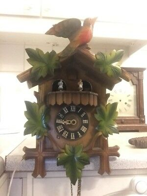 Black Forest Cookoo Clock large with 3 weights and music box