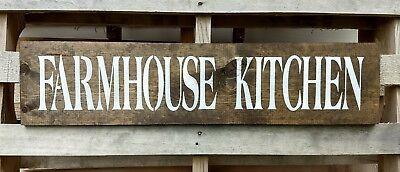 Farmhouse wood sign kitchen farmhouse kitchen welcome large wooden rustic sign