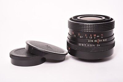 MC Flektogon by Carl Zeiss DDR f/2.4-35mm lens with front and rear cap M42 Mount