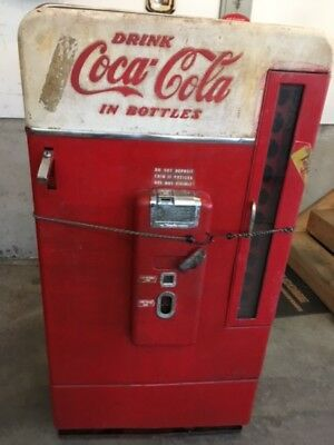 1950's Vendo Coca Cola Machine For  Restoration