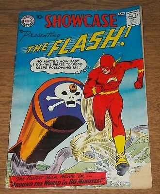 1958 DC Showcase 13 The Flash Comic Silver Age
