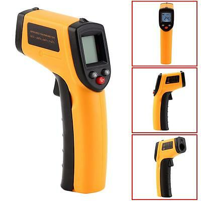Nice Non-Contact LCD IR Laser Infrared Digital Temperature Thermometer Gun AC