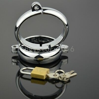 Stainless Steel Handcuffs Ankle Wrist Cuffs Restraint Locks Roleplay Couple