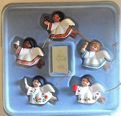 1983 Peace On Earth Angel Ornaments Collection