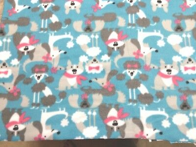 Poodle Dachshund Terrier Dog Pet Blanket Can Personalize Double Sided 28x22