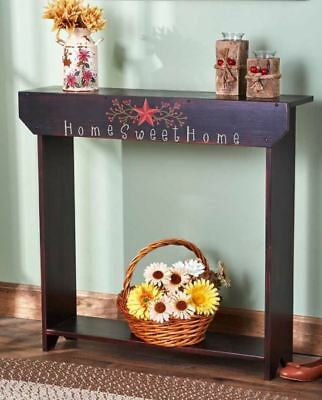Vintage Country Style Distressed Decorative Wood Tables Top Hall Console Table